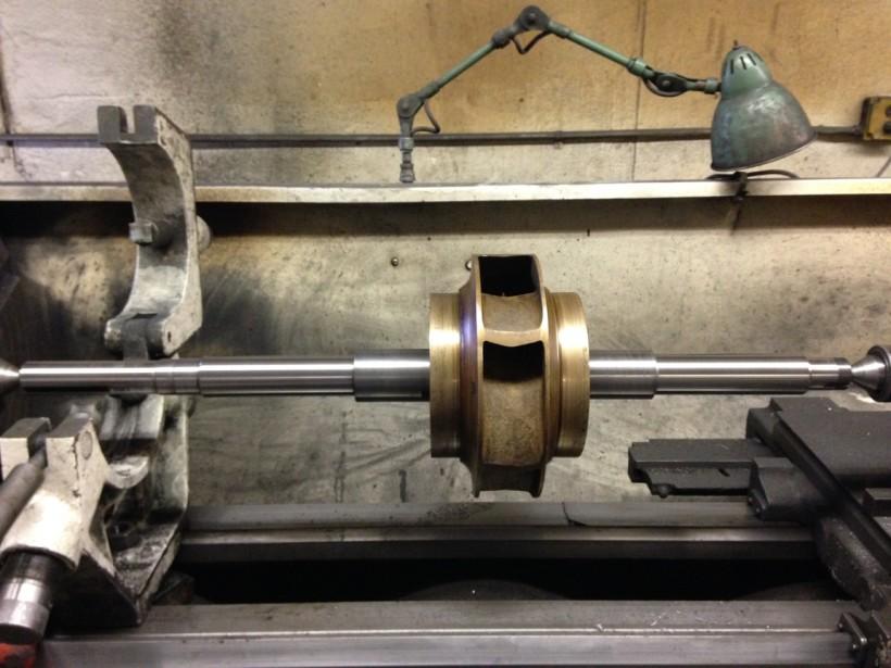 Johnson Controls Pump Shaft Finished